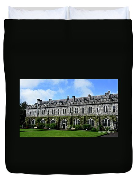 Irish Architecture Duvet Cover