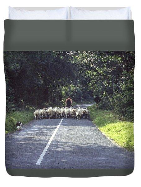 Irish Commute Duvet Cover