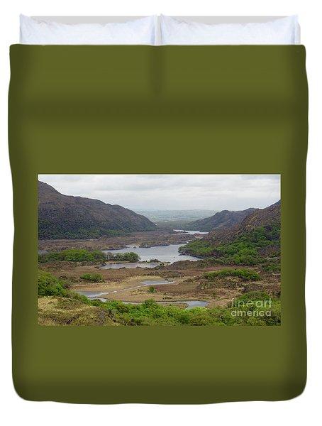 Irish Countryside 2 Duvet Cover by Crystal Rosene