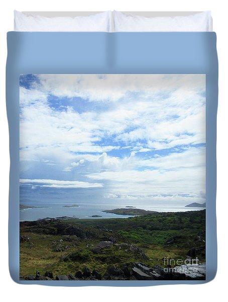 Irish Countryside 3 Duvet Cover by Crystal Rosene