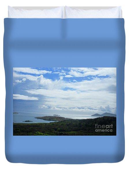 Irish Countryside 4 Duvet Cover by Crystal Rosene