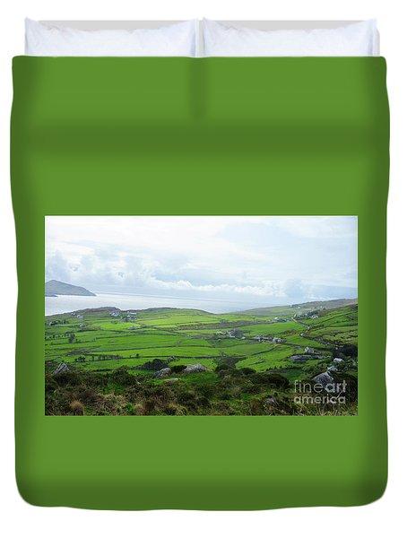 Irish Countryside 5 Duvet Cover by Crystal Rosene