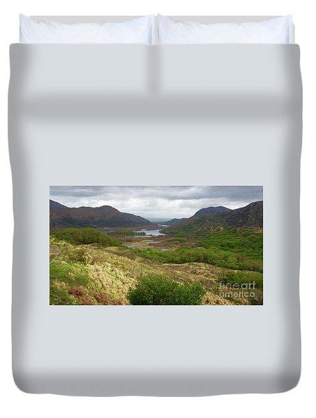 Irish Countryside Duvet Cover by Crystal Rosene