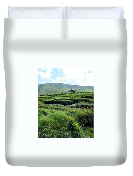 Irish Grasslands Duvet Cover