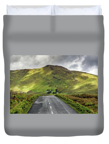 Irish Highway Duvet Cover