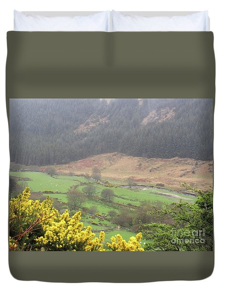 Irish Landscape Duvet Cover