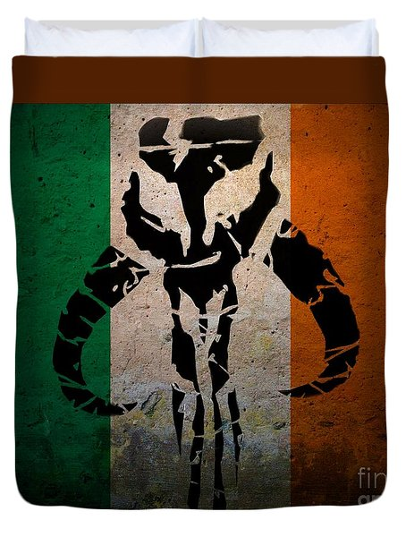 Irish Mandalorian Duvet Cover