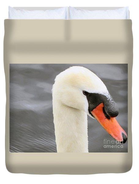 Irish Mute Swan  Duvet Cover