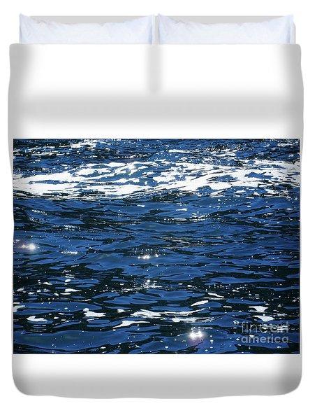 Irish Ocean Duvet Cover by Crystal Rosene