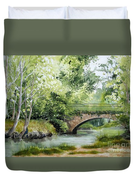 Irish Overpass Duvet Cover