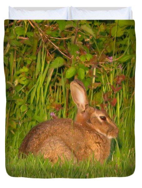 Irish Rabbit Duvet Cover