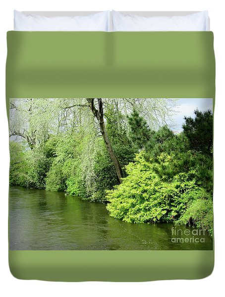 Irish River 2 Duvet Cover