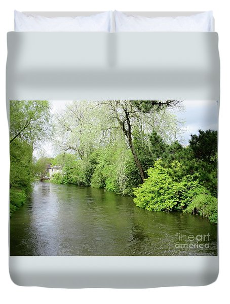 Irish River Duvet Cover