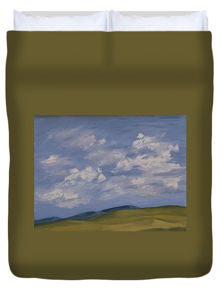 Irish Sky Duvet Cover