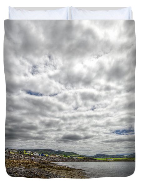 Irish Sky - Waterville, Ring Of Kerry Duvet Cover