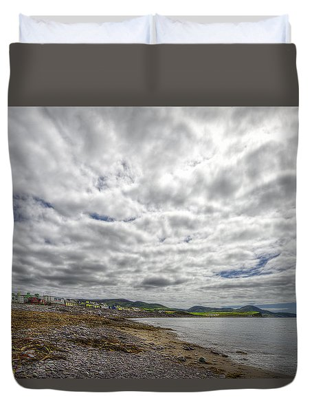 Duvet Cover featuring the photograph Irish Sky - Waterville, Ring Of Kerry by Enrico Pelos