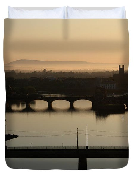 Irish Sunrise  Duvet Cover