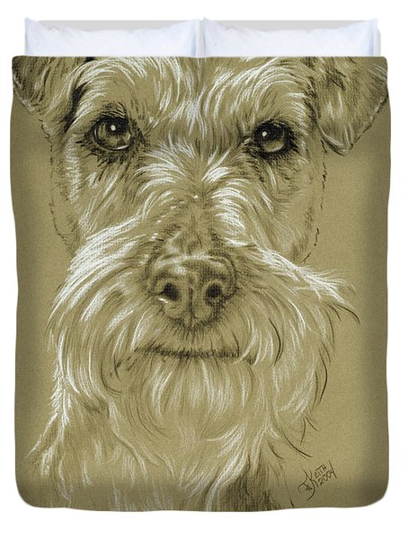 Irish Terrier Duvet Cover