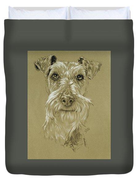 Irish Terrier Duvet Cover