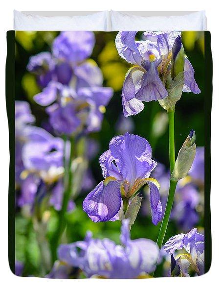 Irisses Duvet Cover