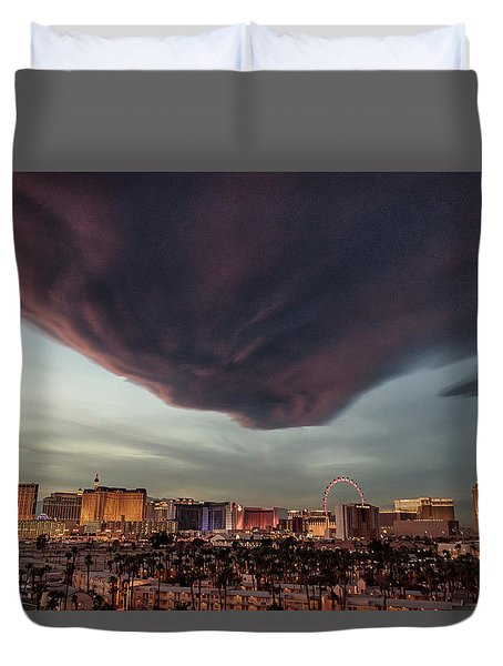 Iron Maiden Las Vegas Duvet Cover
