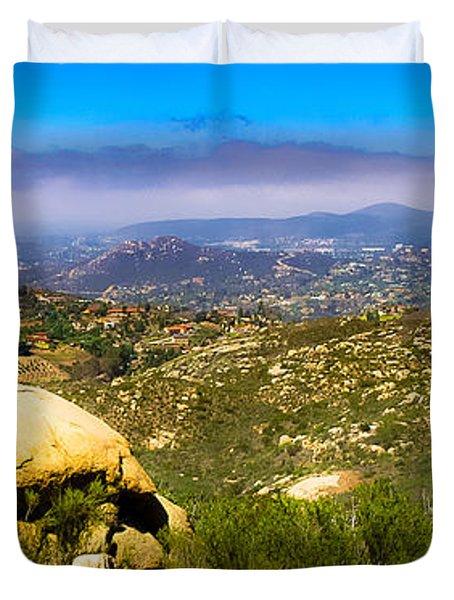Iron Mountain View Duvet Cover