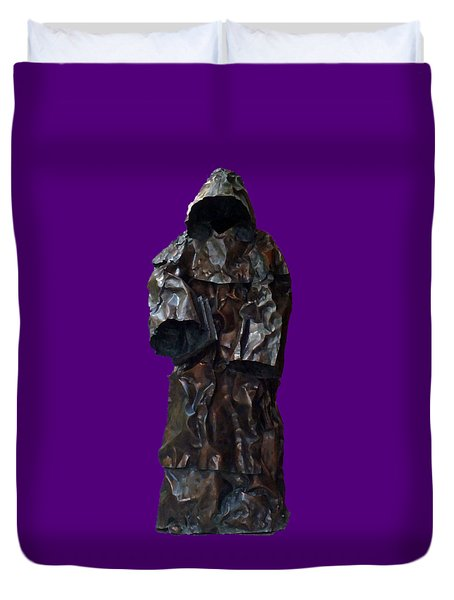 Iron Robe Art Duvet Cover
