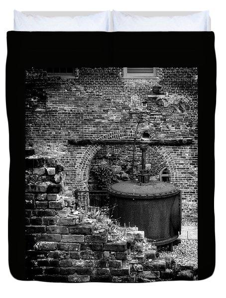 Ironworks Remains Duvet Cover