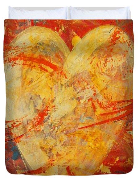 Irrefutable Heart Duvet Cover