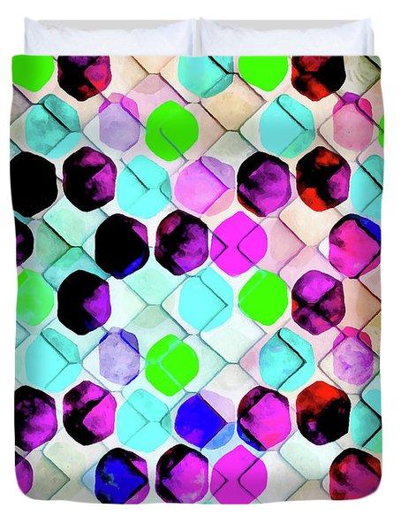 Irregular Hexagon Duvet Cover