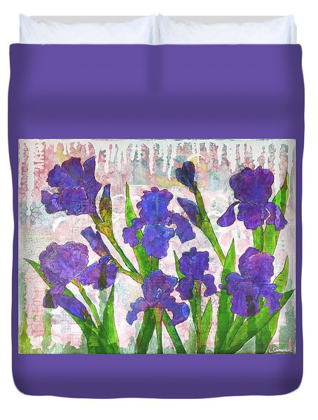 Irresistible Irises Duvet Cover