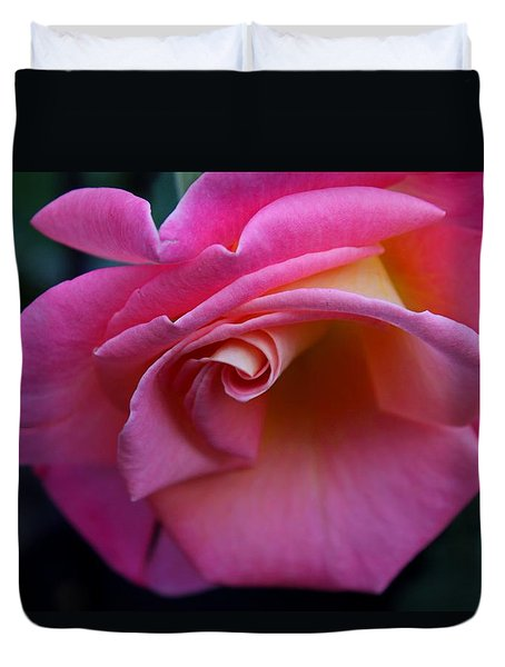 Duvet Cover featuring the photograph Irresistible by Michiale Schneider