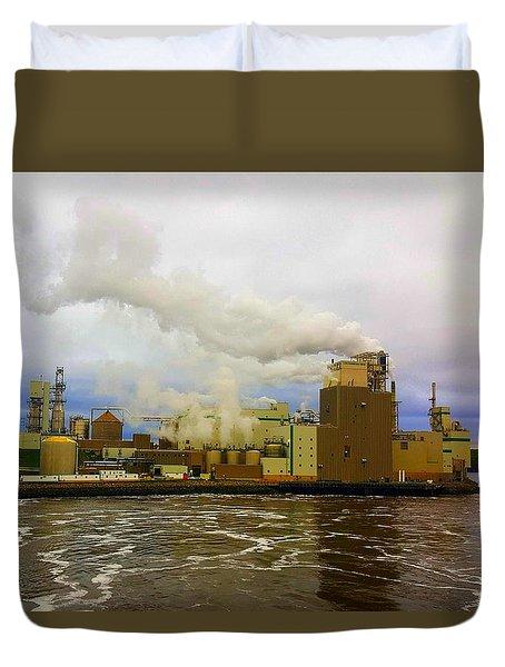 Irving Pulp Mill #3 Duvet Cover