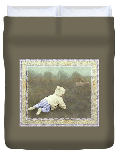 Is Bunny In The Basket? Duvet Cover