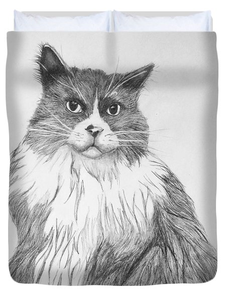 Is It Dinner Time Duvet Cover by John Stuart Webbstock