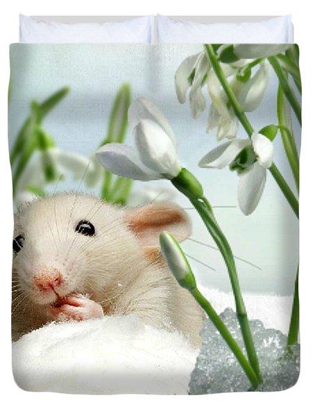 Is It Spring Yet ? Duvet Cover