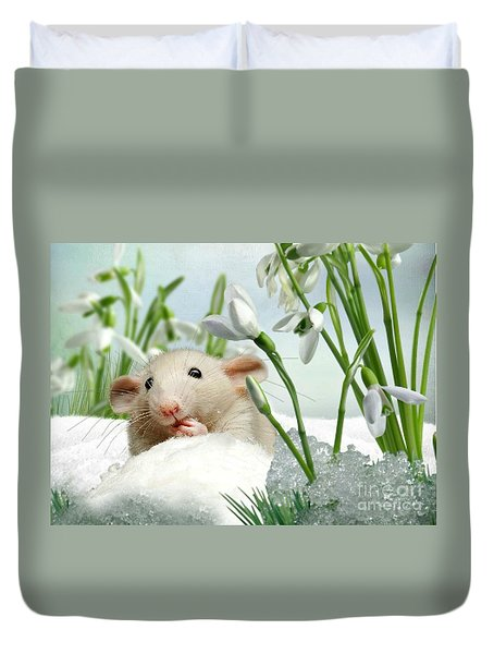 Is It Spring Yet ? Duvet Cover