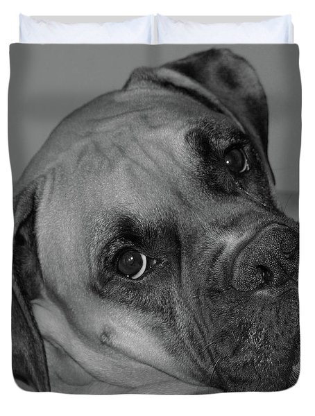 Is This Necessary Duvet Cover by DigiArt Diaries by Vicky B Fuller