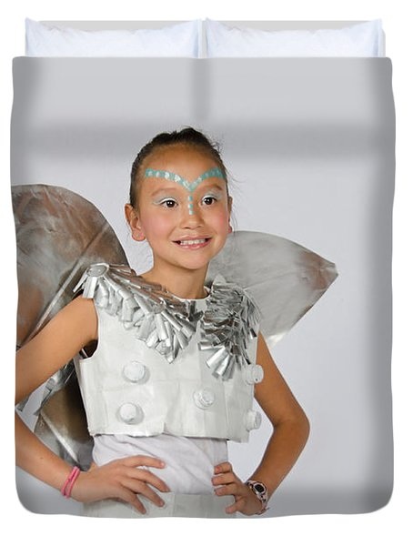 Isa In Snow Fairy Duvet Cover