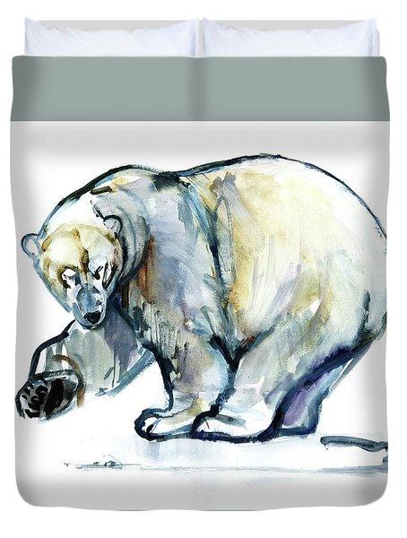 Isbjorn Duvet Cover by Mark Adlington