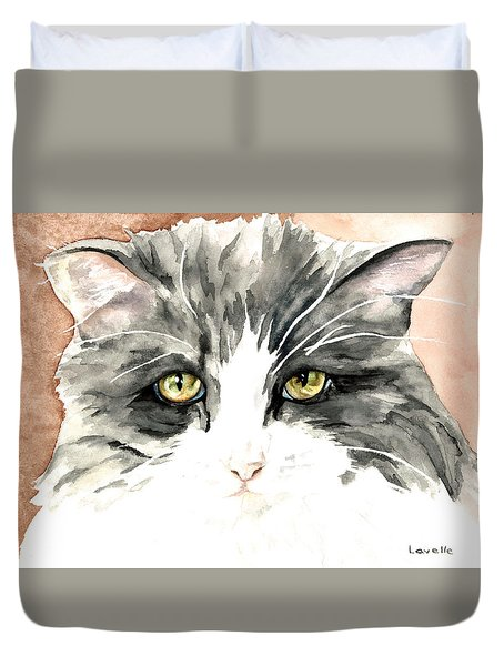 Ish Da Duvet Cover by Kimberly Lavelle