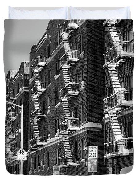 Isham Street Winter Duvet Cover