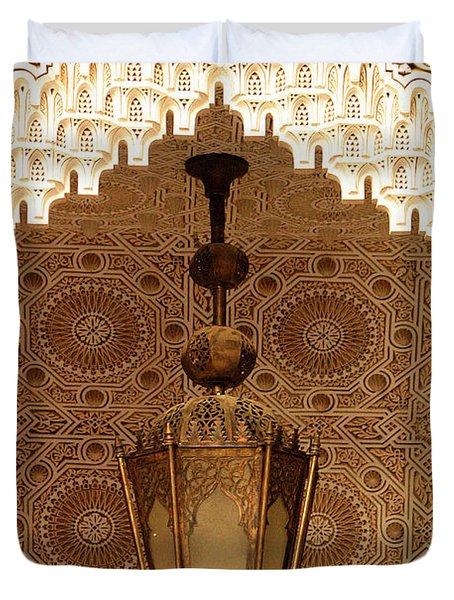 Islamic Plasterwork Duvet Cover