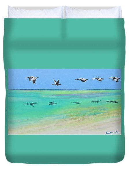 Islamorada Five Duvet Cover
