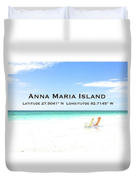 Island Breezes Duvet Cover by Margie Amberge
