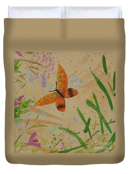 Island Butterfly Series 3 Of 6 Duvet Cover