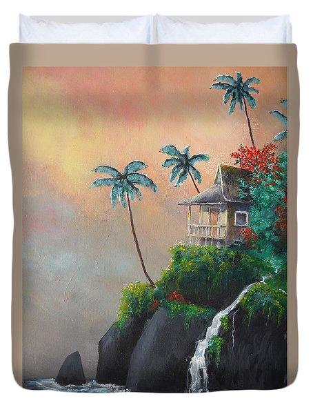 Island Getaway Duvet Cover by Dan Whittemore