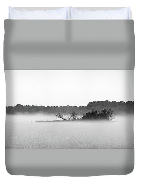 Island In The Fog Duvet Cover