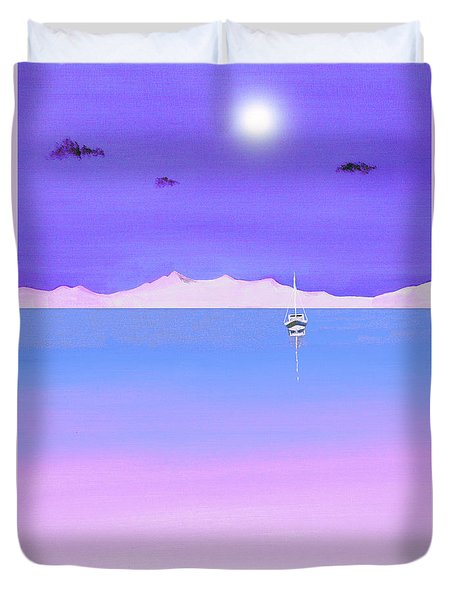 Island In The Sun Duvet Cover