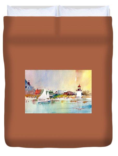 Island Light Duvet Cover